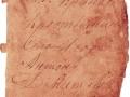 Молитвенник - правая страница первого разворота