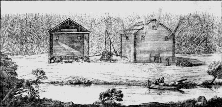 Соляная варница на Мшаге_Пальмквист 1674