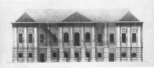 Белый дом - фасад