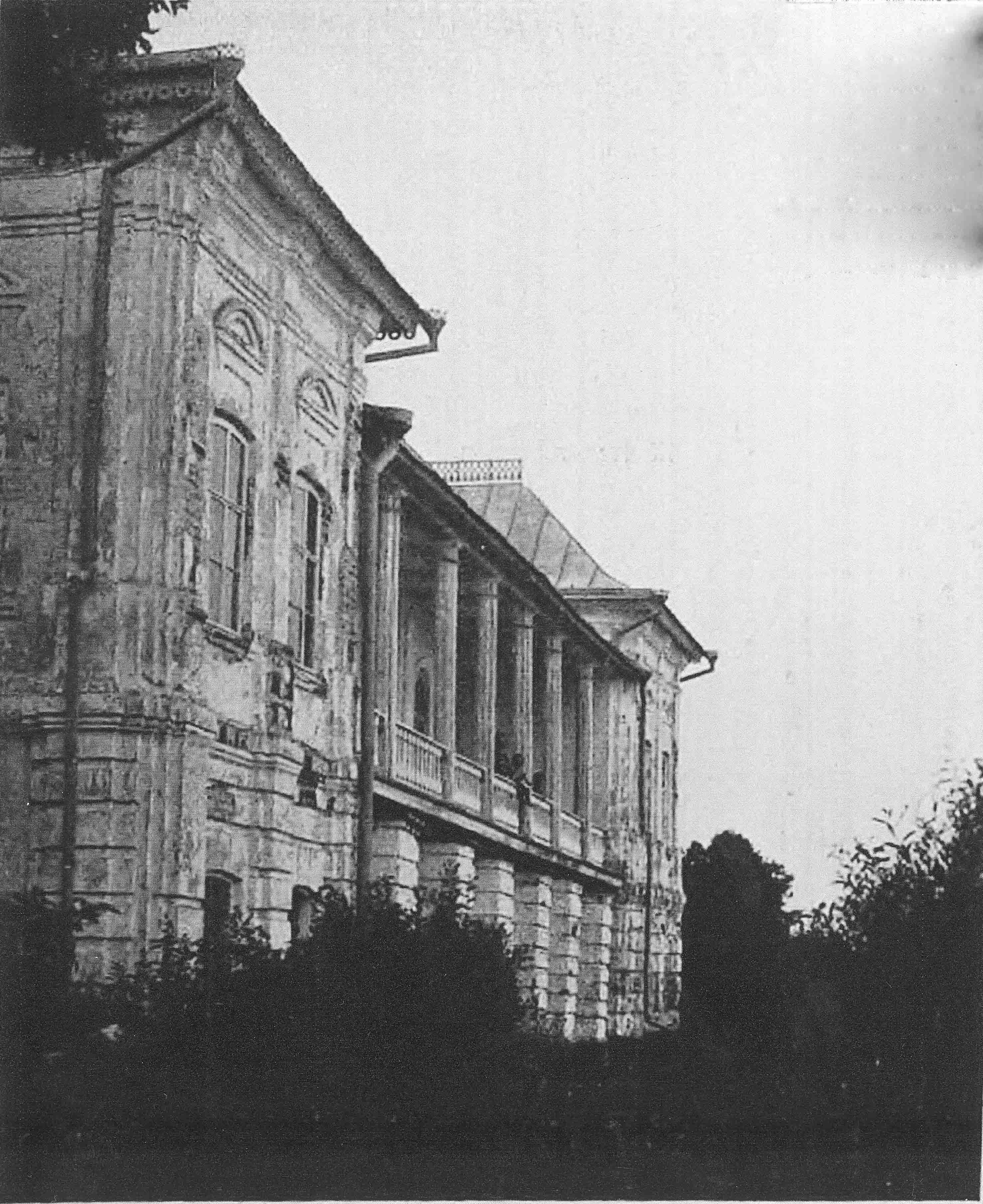 Фасад Белого дома - 1915