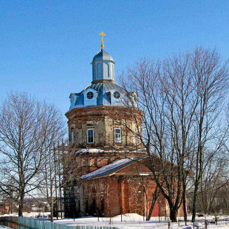 Спасский храм в Ильицыно
