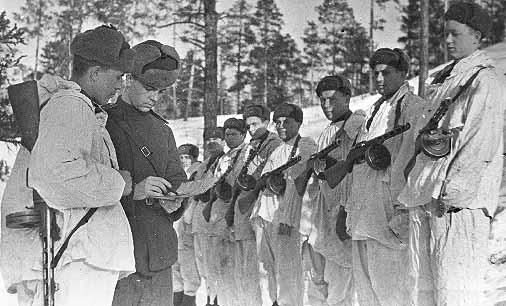 Выход на задание 104 сд 15 марта 1943 г