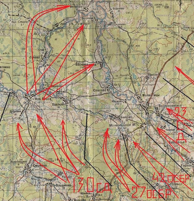 схема движения частей Молвотицы